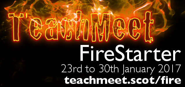 teachmeetfirestarter